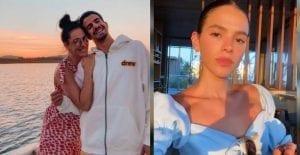 Claudia Raia aprova namoro de filho com Bruna Marquezine.