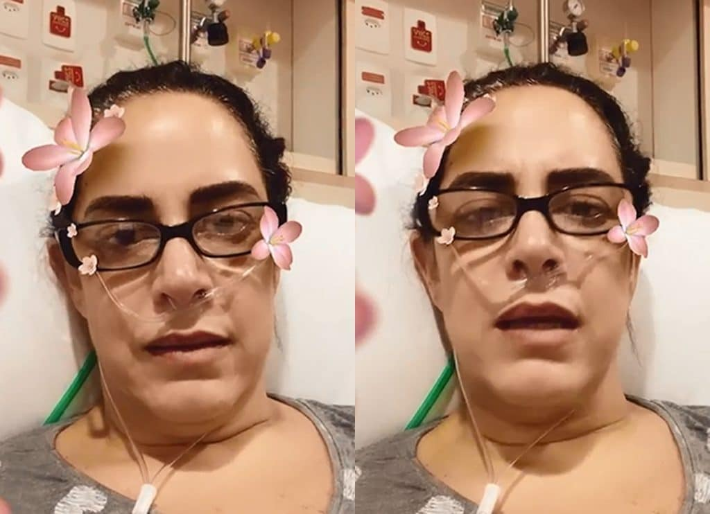 Silvia Abravanel é hospitalizada