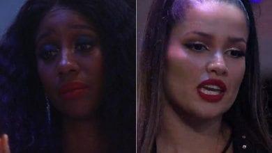 Camilla e Juliette conversam sobre exclusão na convivência - Reprodução/Globoplay - Reprodução/Globoplay