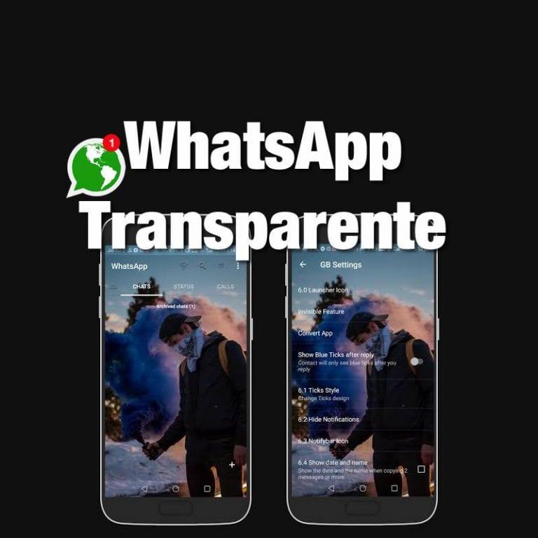 Baixar whatsapp gb transparente – Download atualizado 2021